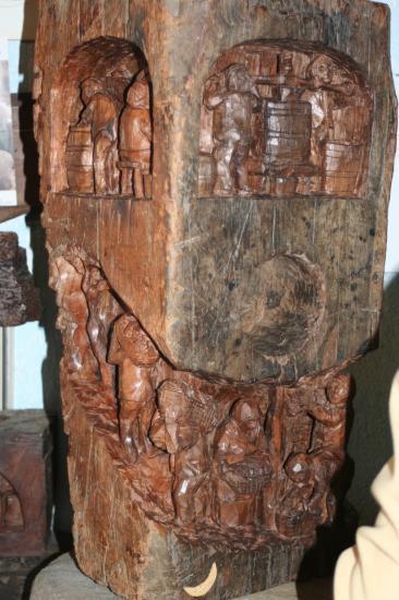 De la sculpture sur bois