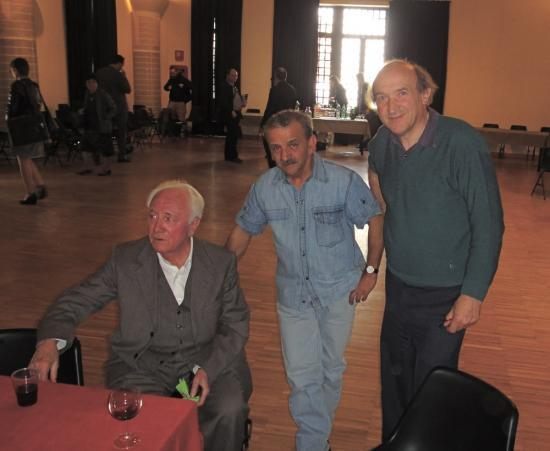 Bruno Niemen (au centre)