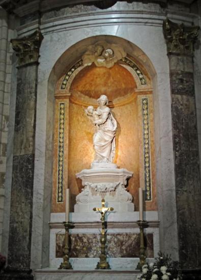 La Vierge de Coysevox