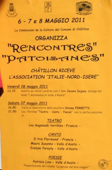 rencontre autour du franco-provençal