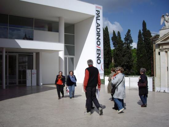 avec le musée de l' Ara Pacis