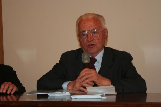 avec le sénateur Cesare Dujany