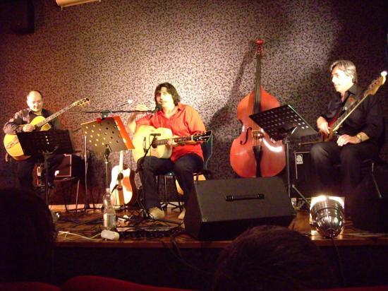 Le trio Musica Cruda